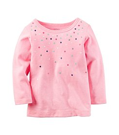 Carter's® Baby Girls' Polka Dot Tee