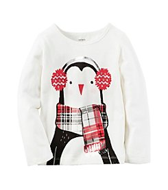 Carter's® Baby Girls' Penguin Tee