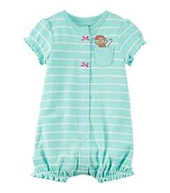 Carter's® Baby Girls' Monkey Pocket Creeper