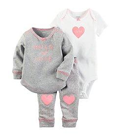Carter's® Baby Girls' 3-Piece Hello My Love Tunic Set