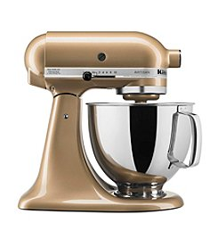 KitchenAid® Artisan® Gold Shimmer 5-qt. Stand Mixer + FREE Food Grinder see offer details