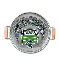 Magnolia Lane NCAA® Michigan State Spartans Metal Tray