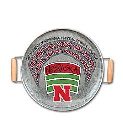 Magnolia Lane NCAA® Nebraska Cornhuskers Metal Tray