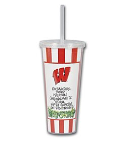 Magnolia Lane NCAA® Wisconsin Badgers 22-oz. Tumbler