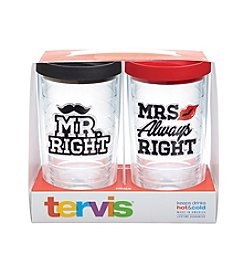 Tervis® 16 Oz. Mr. Right And Mrs. Always Right Travel Mugs