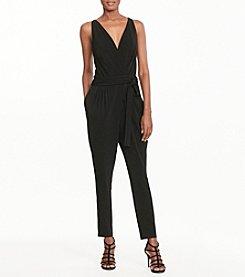 Lauren Ralph Lauren® Jersey Surplice Jumpsuit