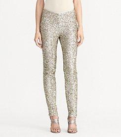 Lauren Ralph Lauren® Sequined Skinny Pant