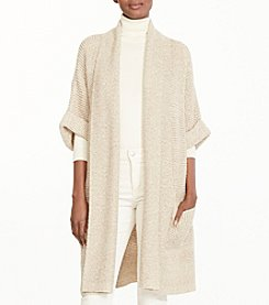 Lauren Ralph Lauren® Cotton Shawl-Collar Cardigan