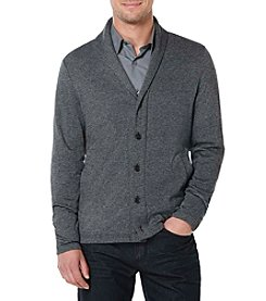 Perry Ellis® Men's Marled Shawl Collar Cardigan