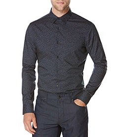 Perry Ellis® Men's Long Sleeve Woven Shirt