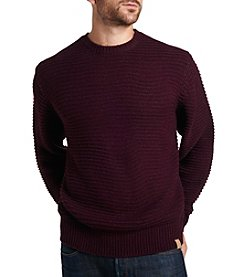 Weatherproof Vintage® Men's Links Stitch Crewneck Sweater