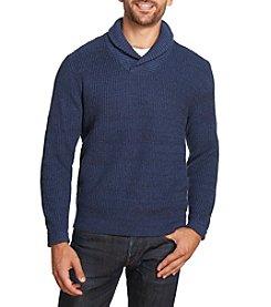 Weatherproof Vintage® Men's Cotton Shawl Collar Sweater