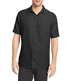 Van Heusen® Men's Short Sleeve Rayon Button Down Shirt