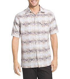 Van Heusen® Men's Short Sleeve Oasis Print Button Down Shirt