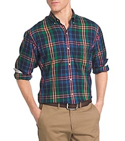 Izod® Men's Fieldhouse Twill Button Down Woven Shirt