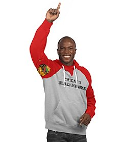 G-III NHL® Chicago Blackhawks Men's Hands High Fleece Hoodie