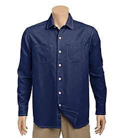 Tommy Bahama® Men's Seaside Flannel Long Sleeve Button Down Shirt