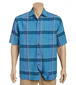 Tommy Bahama® Men's Social Club Plaid Camp Shirt