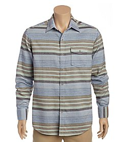 Tommy Bahama® Men's Breaker Stripe Short Sleeve Button Down Shirt
