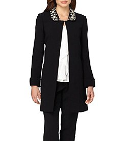 Tahari ASL® Embellished Topper Jacket