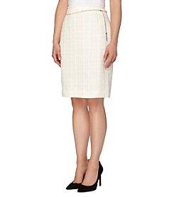 Tahari ASL® Boucle Skirt