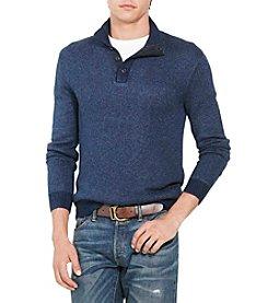 Polo Ralph Lauren® Men's Tussah Silk Half-Zip Sweater