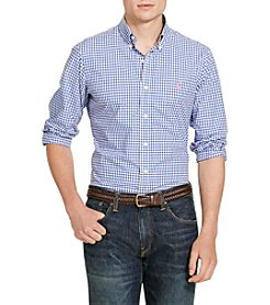Polo Ralph Lauren® Men's Slim-Fit Plaid Poplin Shirt