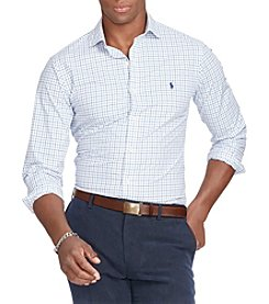 Polo Ralph Lauren® Men's Slim-Fit Tattersall Estate Shirt