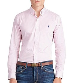 Polo Ralph Lauren® Men's Striped Twill Sport Shirt