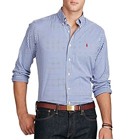 Polo Ralph Lauren® Men's Gingham Stretch Performance Shirt