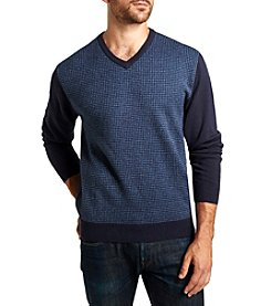 Weatherproof® Men's Soft Acrylic V-Neck Sweater