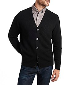 Weatherproof® Men's Acrylic Button Down Cardigan