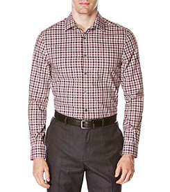 Perry Ellis® Men's Non-Iron Gingham Check Shirt