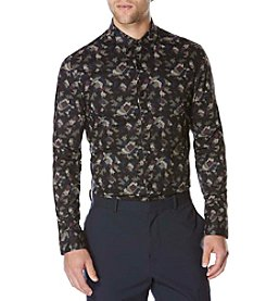 Perry Ellis® Men's Slim Fit Nebula Print Shirt