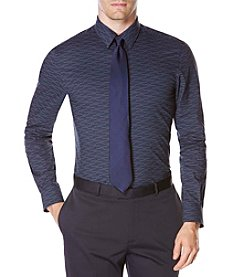 Perry Ellis® Men's Exclusive Linear Geo Print Shirt