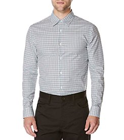 Perry Ellis® Men's Plaid Dobby Woven Shirt
