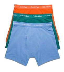 Calvin Klein Men's 3-Pack Cotton Stretch Boxer Briefs