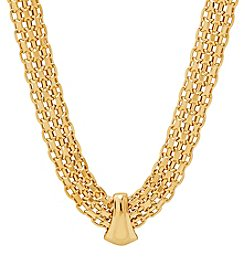 Bismark Necklace In 14K Yellow Gold