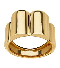 Geometric Ring In 14K Yellow Gold