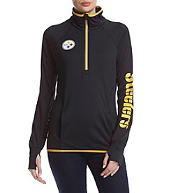 G III NFL® Pittsburgh Steelers Women's Interval 1/2 Zip Pullover