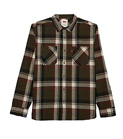 Levi's® Men's Yaws Long Sleeve Button Down Flannel Shirt