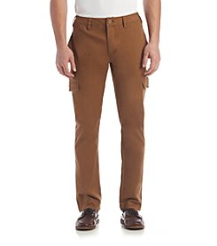 Ruff Hewn Men's Slim Straight Cargo Pants
