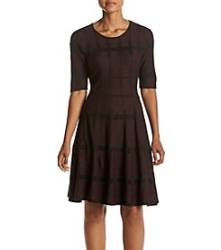 Ivanka Trump® Fit And Flare Dress