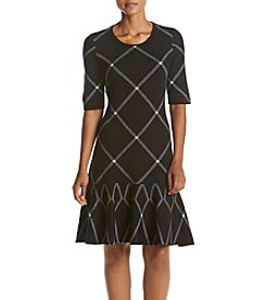 Ivanka Trump® Dropwaist Sweater Dress