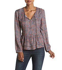 William Rast® Devon Peasant Top