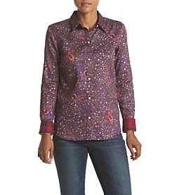 Chaps® Non-Iron Bold Paisley Sateen Shirt