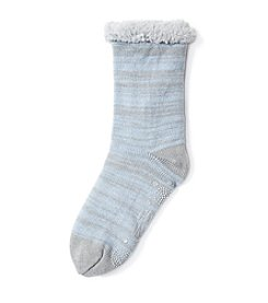 MUK LUKS® Women's One-Pair Marl Cabin Socks