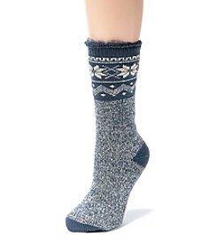 MUK LUKS Women's One-Pair Thermal Insulated Socks