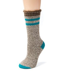 MUK LUKS Women's One-Pair Thermal Insulated Socks