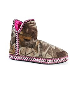 MUK LUKS Women's Fleece Camo Amira